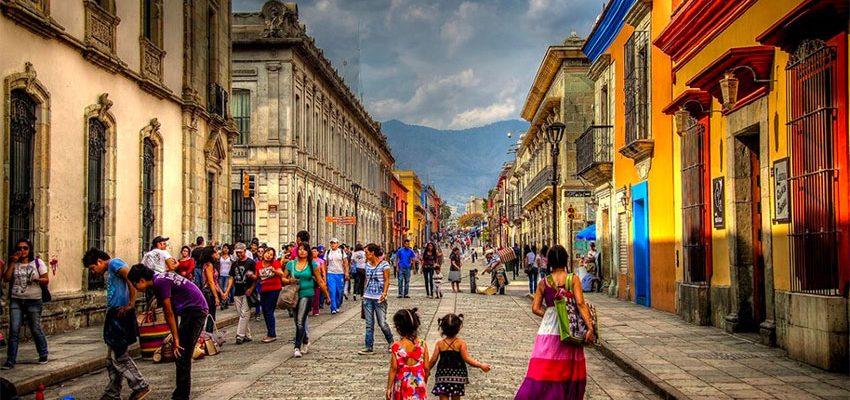 Izamal a Oaxaca v Mexiku 1