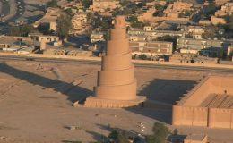 Samarra a spirálový minaret 3