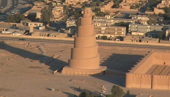 Samarra a spirálový minaret 1