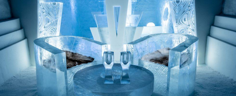 Nejlepší ledové hotely, iglú a sněhové vesnice v roce 2020 1