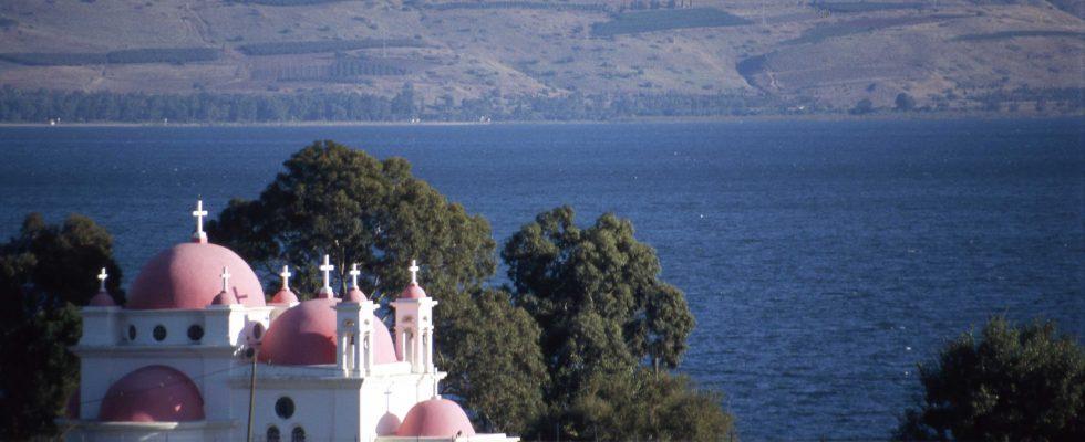 Hlavní atrakce oblasti kolem Galilejského jezera 1
