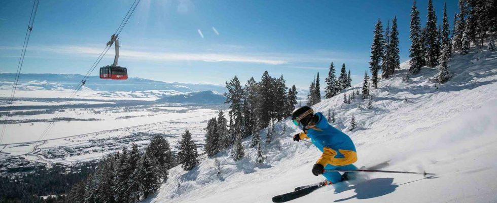 Skvělá málo známá lyžařská centra v USA 1