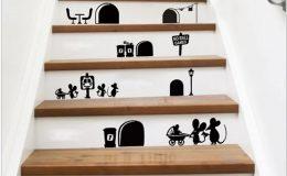 6 nápadů, jak vyzdobit doma schody 9