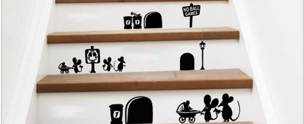 6 nápadů, jak vyzdobit doma schody 1