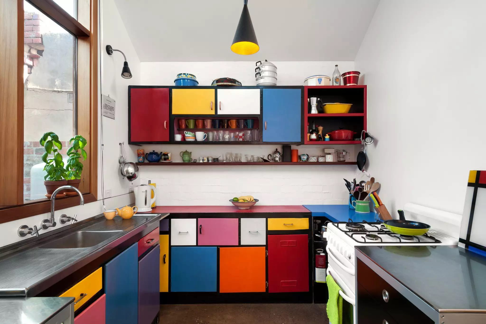 26 barevných nápadů do interiéru kuchyně 3