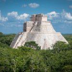 Ruiny v džungli v Uxmalu 4