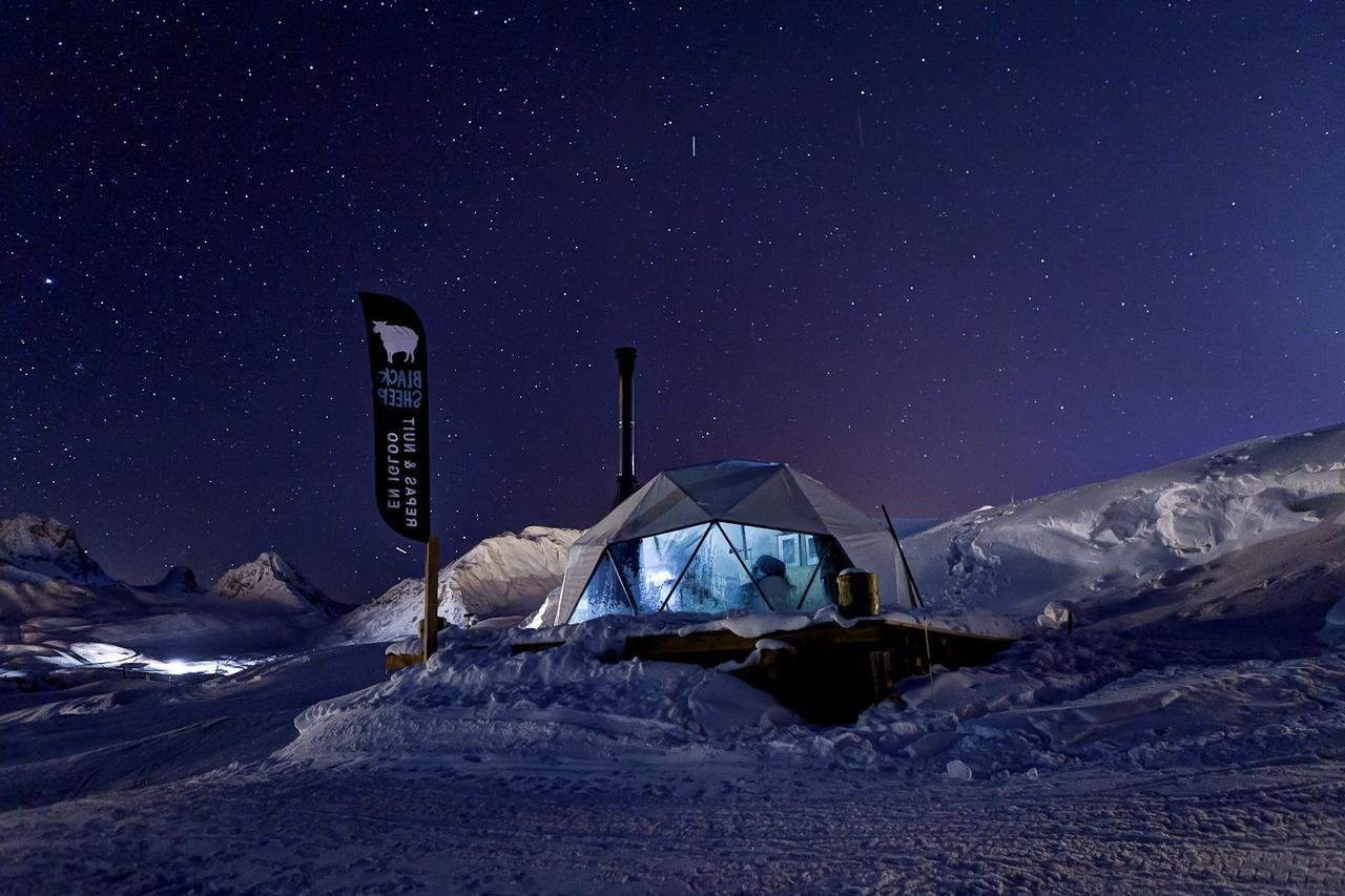 Nejlepší ledové hotely, iglú a sněhové vesnice v roce 2020 6
