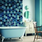 6 nápadů na použití dlaždic a kachlí v koupelně 7
