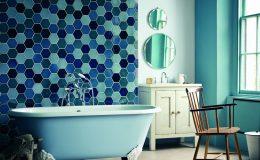 6 nápadů na použití dlaždic a kachlí v koupelně 6
