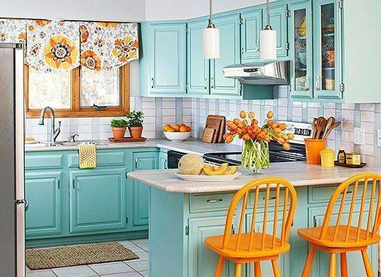 26 barevných nápadů do interiéru kuchyně 1