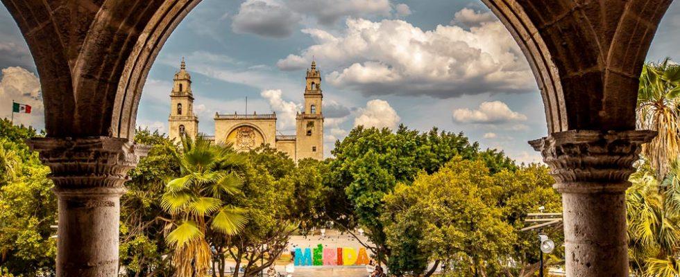 Mérida v Mexiku 1