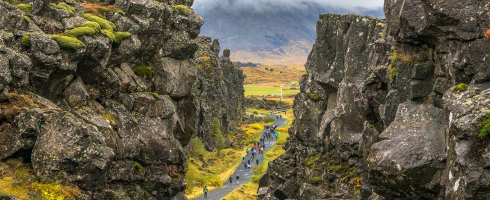 Thingvellir na Islandu 1