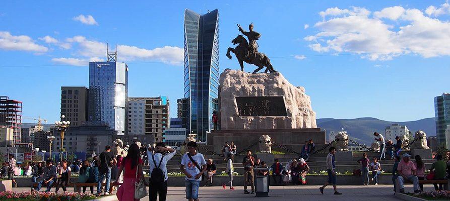 Ulanbatár, Mongolsko 1