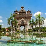 48 hodin ve Vientiane v Laosu 2