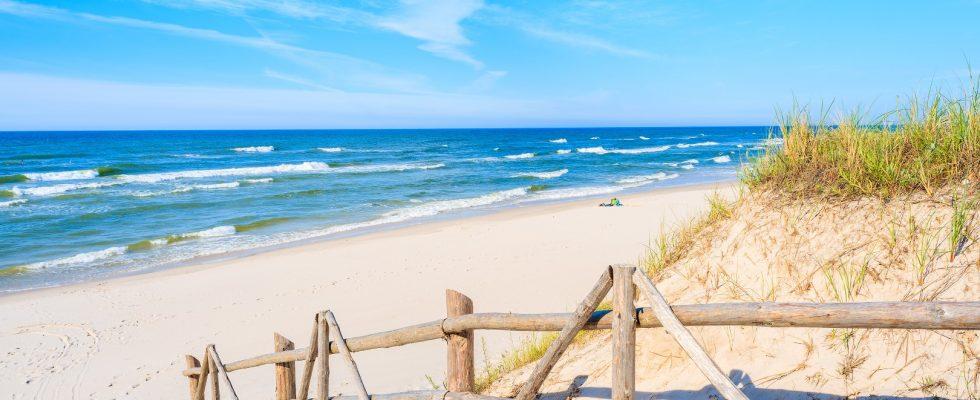 U baltského pobřeží v Polsku 1