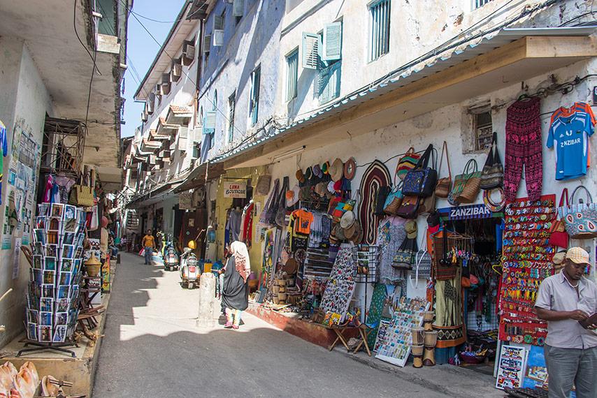 Stone Town na Zanzibaru 2