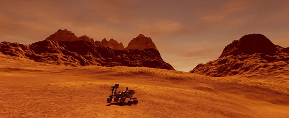 Obří potopa na Marsu – další stopa života na Rudé planetě 1