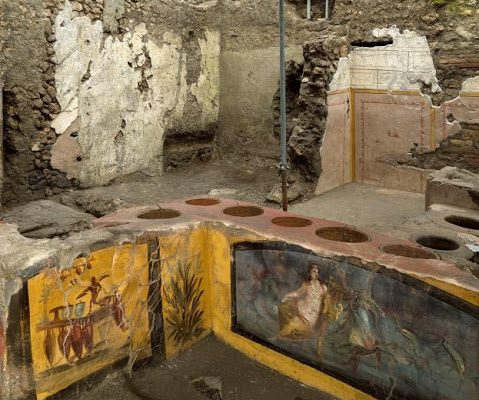 Archeologové odkryli v Pompejích starověké občerstvení 1