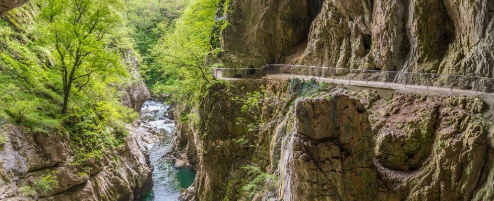 """Turistická pěší """"Trasa míru"""" mezi Slovinskem a Itálií 1"""