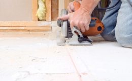 Jak vyměnit podkladovou podlahu pod stěnou 3