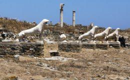 Památky a atrakce řeckého ostrova Délos 2