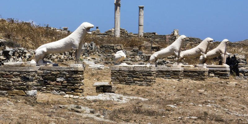 Památky a atrakce řeckého ostrova Délos 1