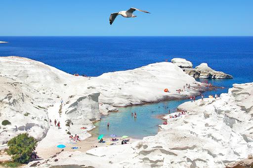 Ostrov Milos (Mélos) 2