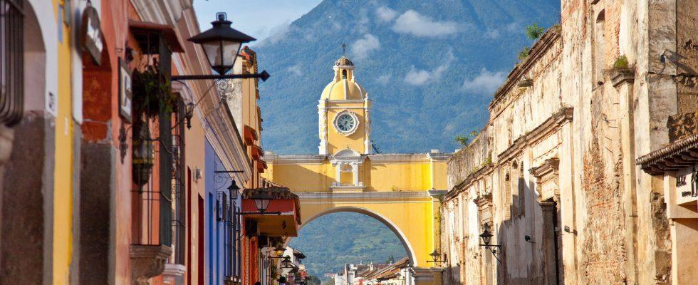 Hlavní turistické atrakce Guatemaly 1