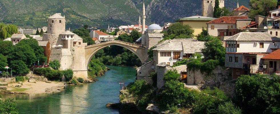 Bosna a Hercegovina, Mostar 1
