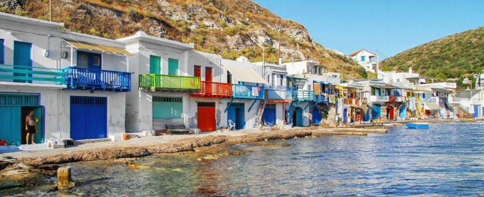 Ostrov Milos (Mélos) 1