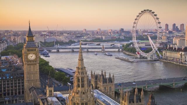 Poprvé v Londýně 1