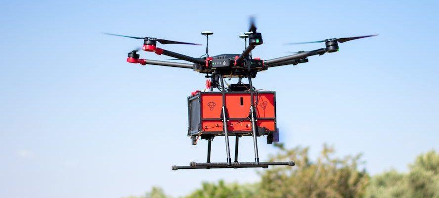 Dodávky pomocí dronů se lavinově šíří tam, kde jsou povoleny 25