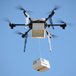Doručovací systém byl integrován do účelově postaveného dronu 3
